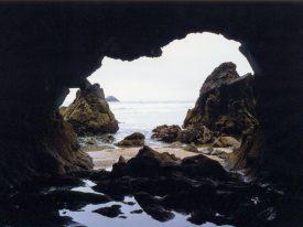 Grotte an der Point de Kerdra (La Palue)