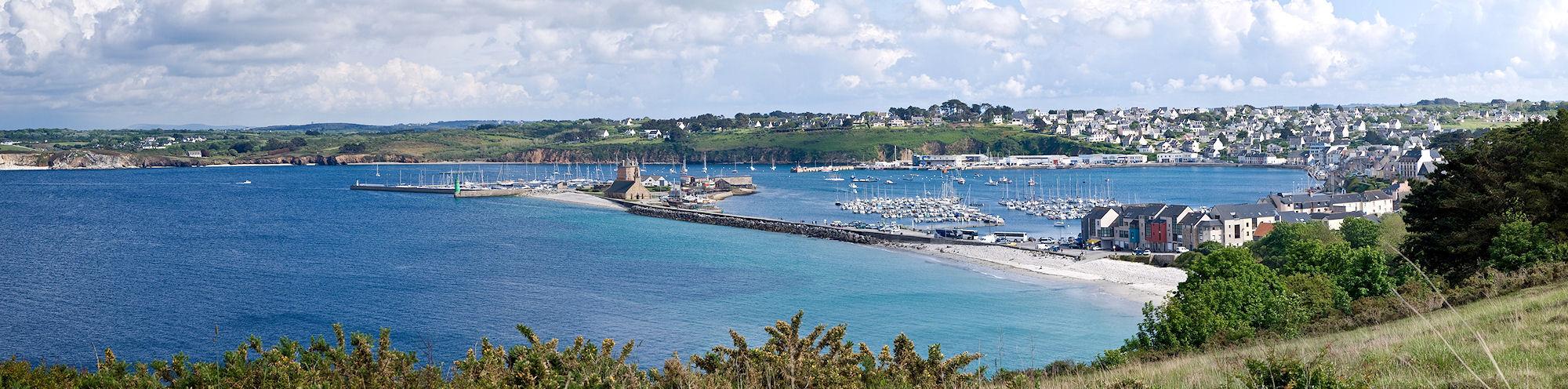 Blick über den Hafen von Camaret