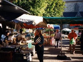 Markttag in Crozon