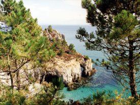 Blick auf die Ile Vièrge